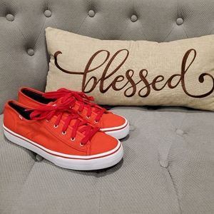 EUC Women's Champion Bright Red Keds size 9